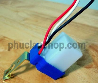 Picture of Công tắc tự động bật đèn khi trời tối AC 220 Volt