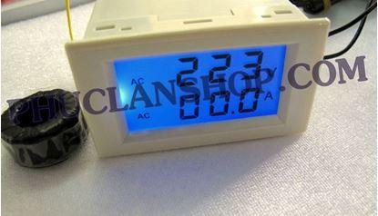 Picture of Đồng hồ đo dòng và áp Volt và Ampe ( AC 250V, 100A)