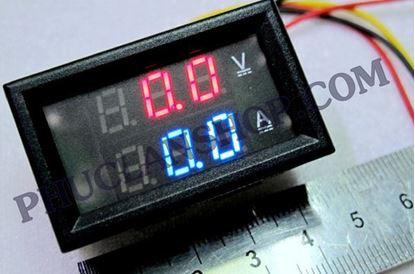 Picture of Đồng hồ đo dòng và áp (Volt, Ampe) ( DC 200v, 50A)