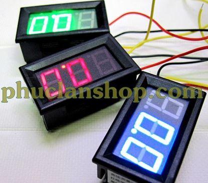 Picture of Đồng hồ đo điện áp DC (volt) từ 0V đến 300V