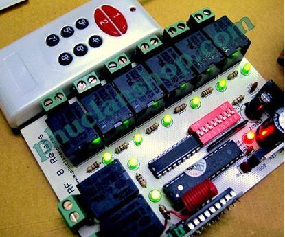 Picture of Bộ điều khiển sóng RF tắt/ mở 8 thiết bị