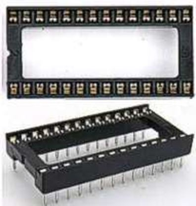 Picture of DIP 28pin khe rộng