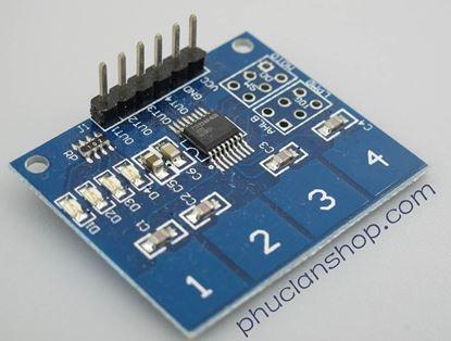 Picture of Module bàn phím cảm ứng điện dung 4 phím
