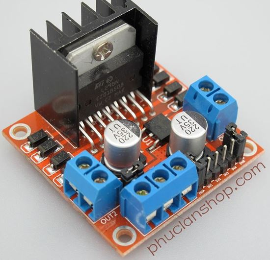 Picture of Module điều khiển động cơ L298N