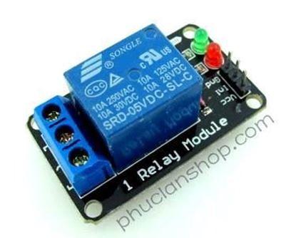 Picture of  Module Đóng ngắt 1 relay có Opto cách ly