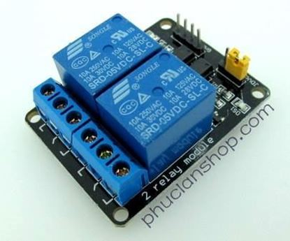 Picture of  Module Đóng ngắt 2 relay có Opto cách ly