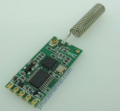 Picture of Module thu phát RF UART CC1101 433Mhz khoảng cách 200m