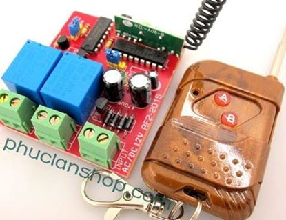 Picture of Bộ điều khiển dùng sóng RF tắt/ mở 2 thiết bị