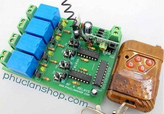 Picture of Bộ điều khiển dùng sóng RF tắt/ mở 4 thiết bị