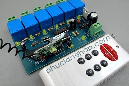 Picture of Bộ điều khiển dùng sóng RF tắt/ mở 6 thiết bị