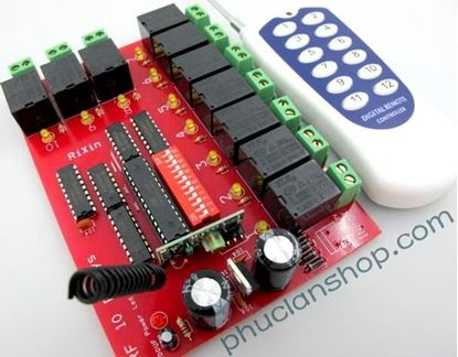 Picture of Bộ điều khiển dùng sóng RF tắt/ mở 10 thiết bị