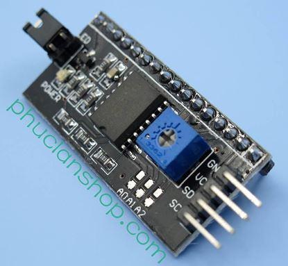 Picture of Module chuyển ra giao diện nối tiếp I2C/IIC/TWI cho LCD 1602, LCD 1604 và LCD 2004