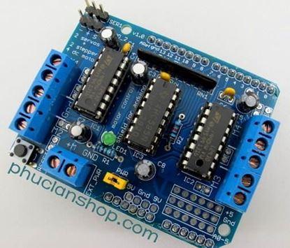 Picture of Module Arduino điều khiển động cơ L293D (Arduino Motor Shield L293D)