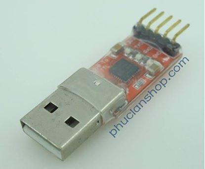 Picture of Module chuyển từ USB2.0 ra TTL UART dùng CP2102