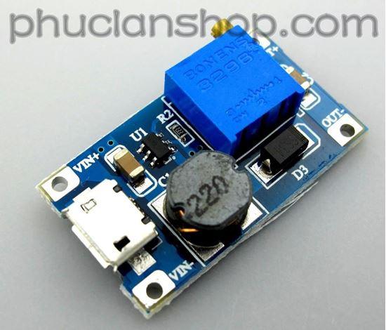 Picture of Module tăng áp 2A có micro-USB