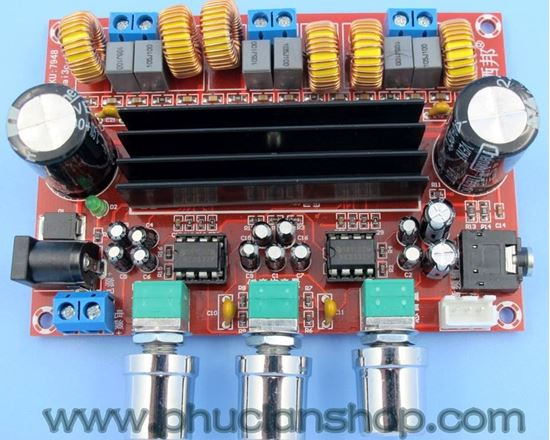 Picture of Mạch Khuếch Đại Âm Thanh TPA3116D2 Class D 2x50W + Sub 100W