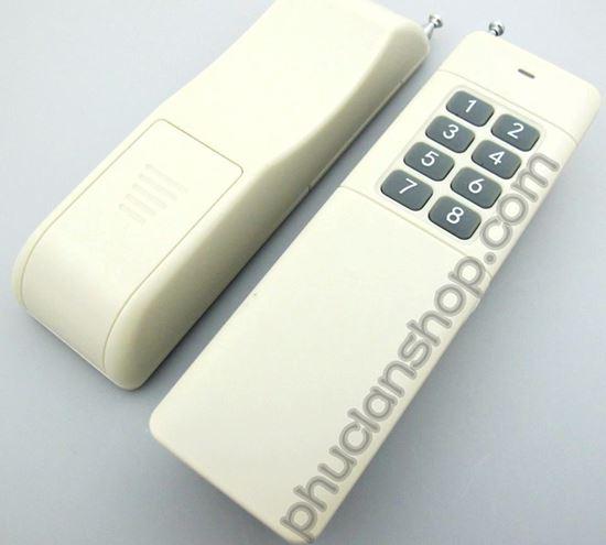 Picture of Remote RF 8 nút dùng pin 9V