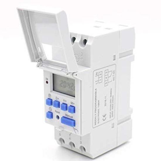 Picture of Công tắc hẹn giờ điện tử THC15A (Timer THC15A) 12VDC