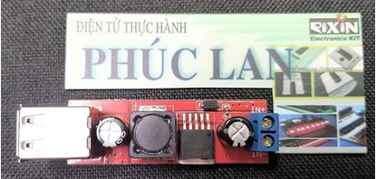 Picture of Module Buck DC ( hạ áp) 9V-12V-24V-36V xuống 5V 3A hai cổng USB