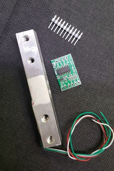 Picture of Cảm biến Loadcell 5kg ( tặng kèm module ADC 24bit HX711)