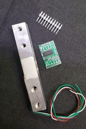 Picture of Cảm biến Loadcell 20kg ( tặng kèm module ADC 24bit HX711)