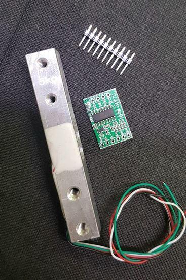 Picture of Cảm biến Loadcell 10kg ( tặng kèm module ADC 24bit HX711)