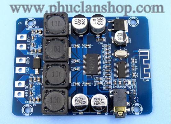 Picture of Mạch giải mã- khuếch đại âm thanh Bluetooth 4.0 sử dụng chip TPA3118