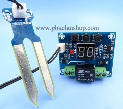 Picture of Module Cảm biến  và điều khiển theo độ ẩm đất ( XH- M214)