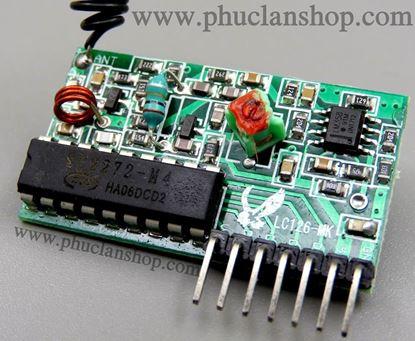 Picture of Module Thu sóng RF 315mHz có chip giải mã PT2272-M4