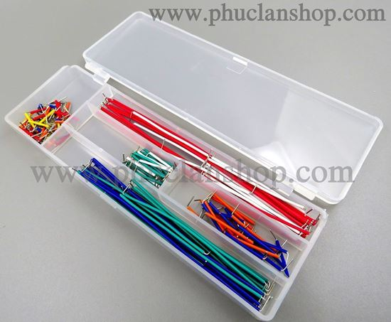 Picture of Jumper cable Kit ( bộ dây nối cắm Breadboard, Project board)