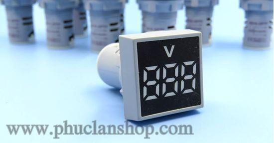 Picture of Đồng hồ báo VOLT AC 12~500VAC trắng