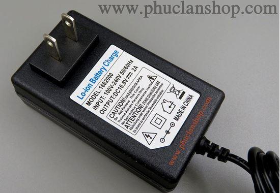 Picture of Nguồn Adaptor 12.6V, 2A (12,6V / 2A) dùng cho sạc pin Lithium có báo đầy