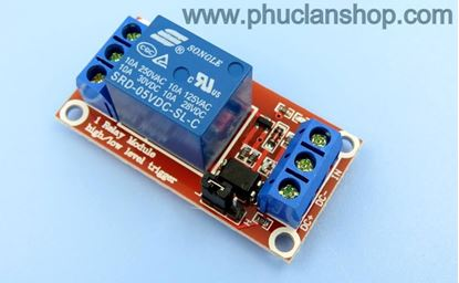 Picture of Module 1 Relay Kích H/L 5VDC