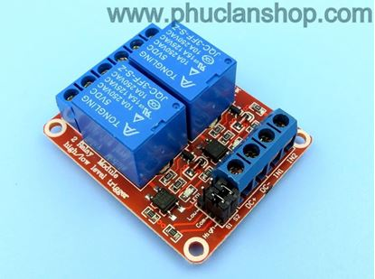 Picture of Module 2 Relay Kích H/L 5VDC