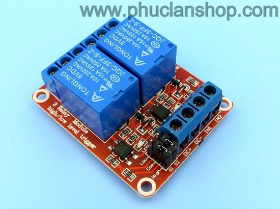 Picture of Module 2 Relay Kích H/L 12VDC