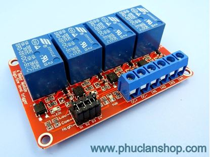 Picture of Module 4 Relay Kích H/L 5VDC