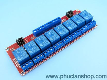 Picture of Module 8 Relay Kích H/L 5VDC