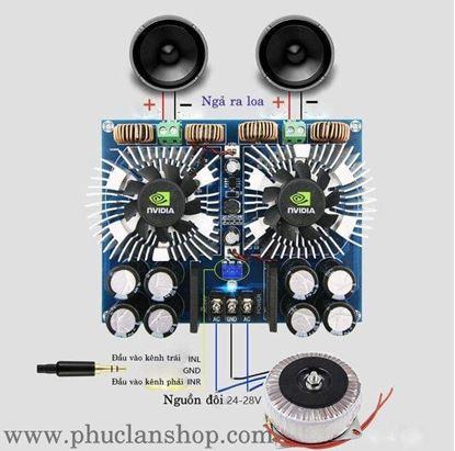 Picture of Mạch khuếch đại âm thanh 420Wx2 (840W) TDA8954TH