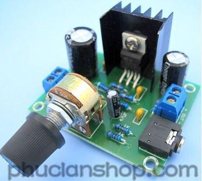 Picture of Mạch khuếch đại công suất âm thanh 2.0 TDA2030A x2 ( 15Wx2)