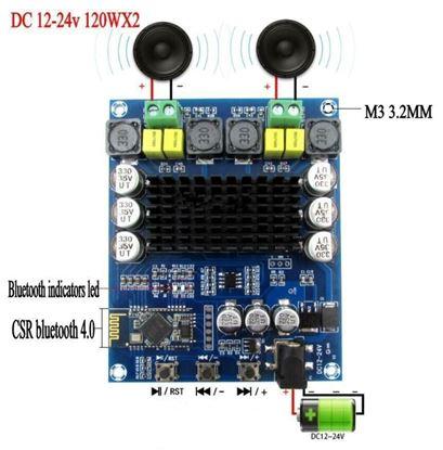 Picture of Mạch khuếch đại Bluetooth TPA3116D2 công suất 120W x 2 kênh (amply 120Wx2)