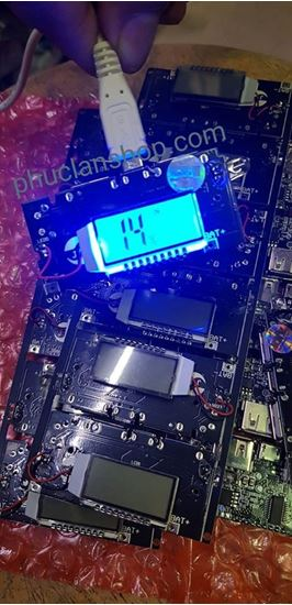 Picture of Mạch sạc Pin dự phòng 2A có màn hình LCD hiển thị trạng thái sạc