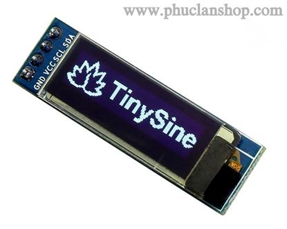 Picture of Màn hình OLED 0.91 inch ( 128*32) giao tiếp IIC