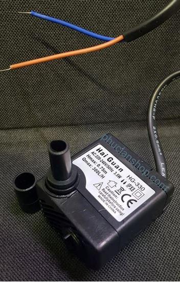 Picture of Bơm HG-330 loại 3.5W dùng cho quạt hơi nước