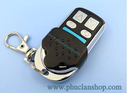 Picture of Remote inox 4 nút (mũi tên) học lệnh tần số 315MHz