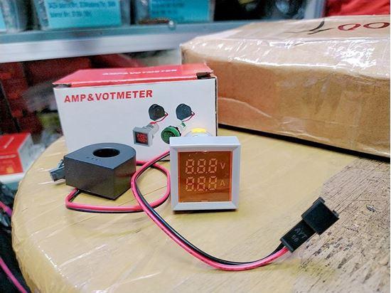 Picture of Đồng hồ hiển thị dòng và áp AC 500V, 100A (màu ngẫu nhiên)