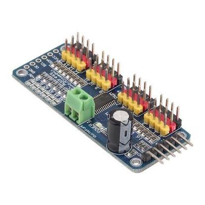 Picture of Module điều khiển PWM 16 kênh, giao tiếp IIC cho RC servo SG90; MG90S, MG995...