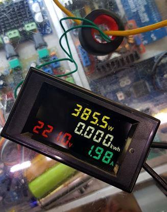 Picture of Đồng hồ báo điện AC 4 thông số (màu)