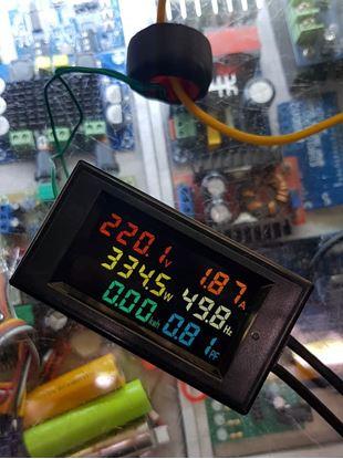 Picture of Đồng hồ báo điện AC 6 thông số (màu)