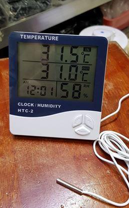 Picture of Đồng hồ báo nhiệt và ẩm độ HTC-2