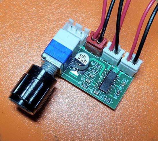 Picture of Mạch khuếch đại âm thanh PAM8403 3W×2 có Volume chỉnh âm lượng và các kết nối ra loa